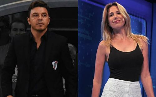 El video de Marcelo Gallardo y Alina Moine juntos y felices